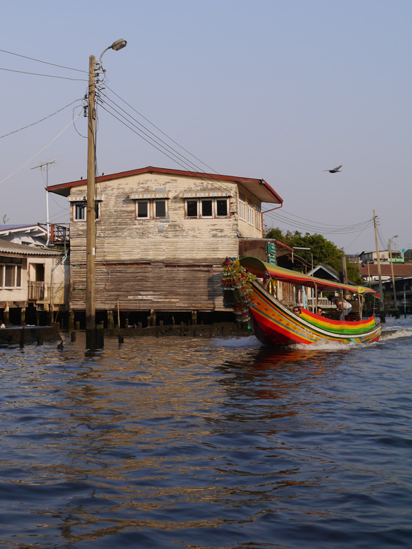Canal Boat ride Thailand
