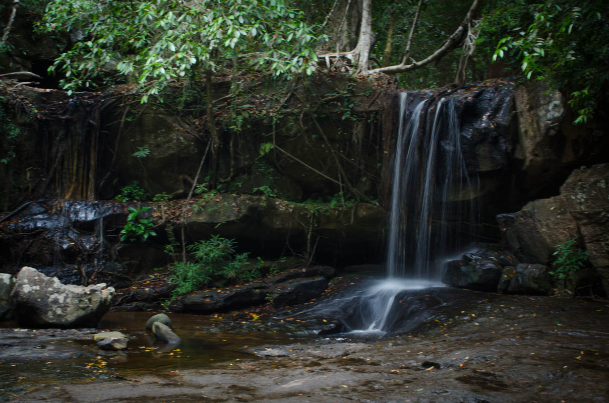 Waterfall at Kbal Spean