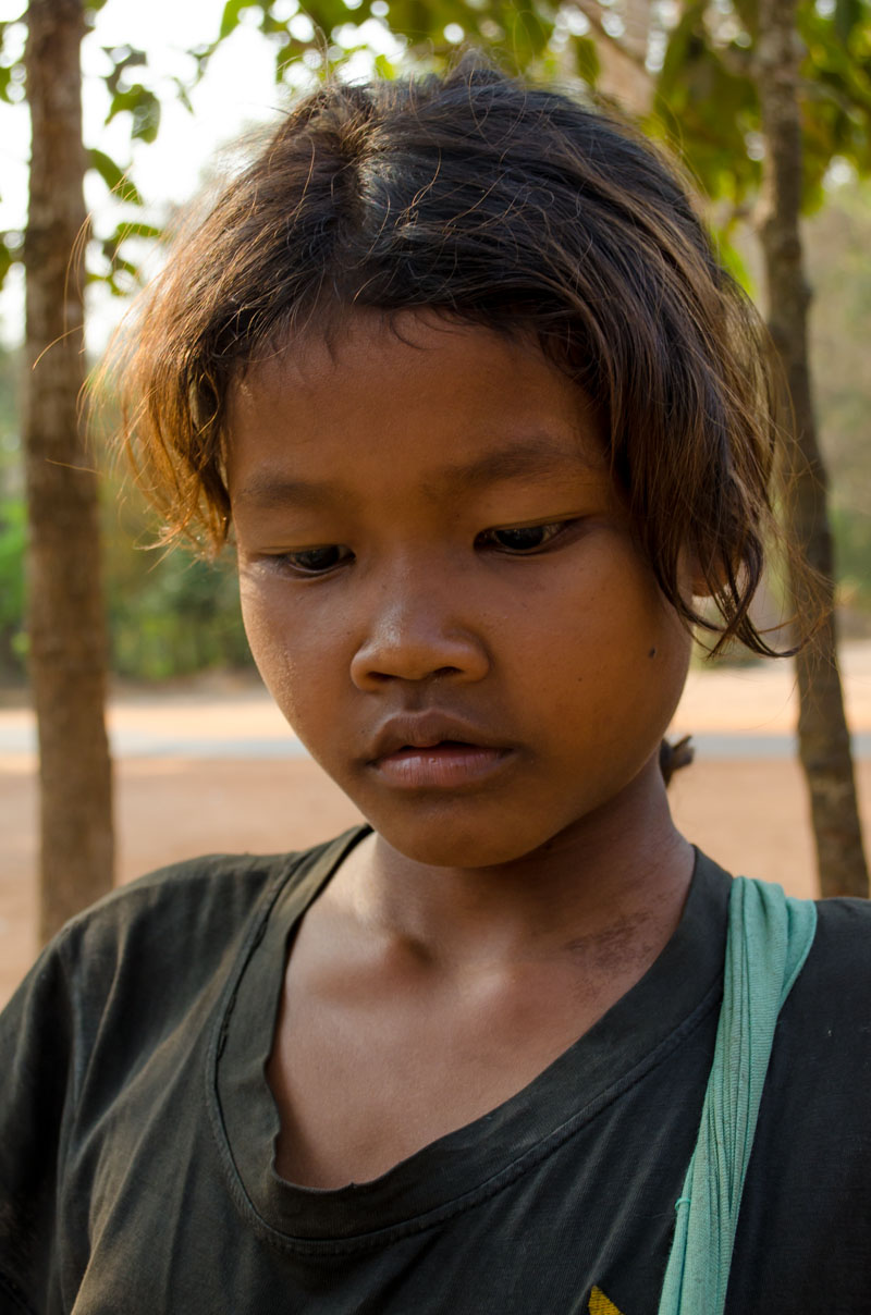Local child at Angkor Wat