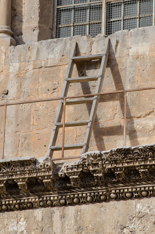 "The famous ""Immovable Ladder"""