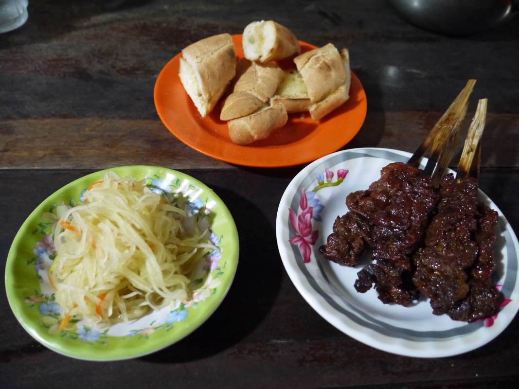 Our favorite meal in Siem Reap for $1.50.