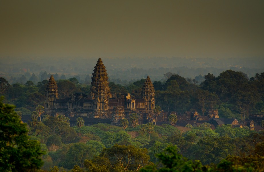 Photo of the Week: Angkor Wat at Sunset