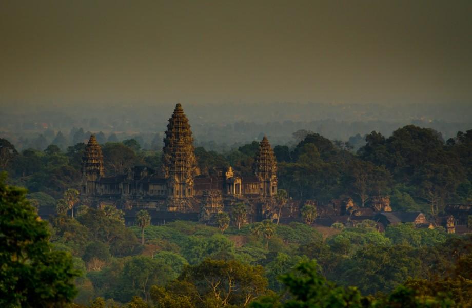 Photo of the Week: Angkor Wat at Sunset