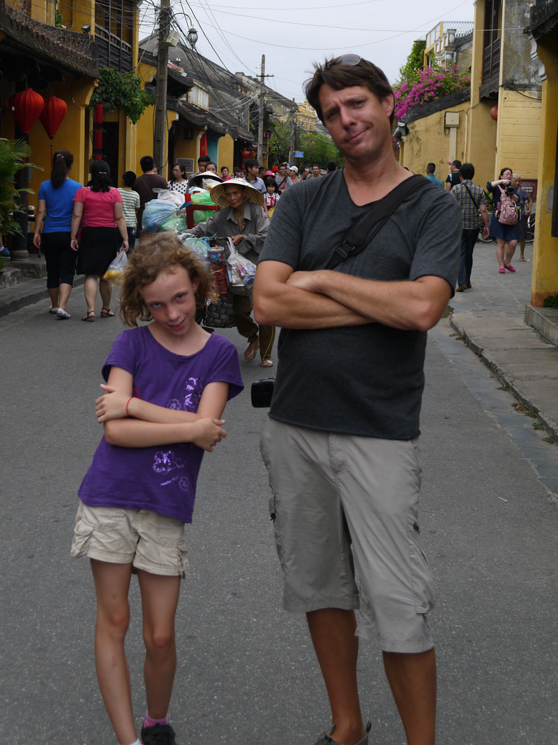 Kickin' it in the Historic Center of Hoi An