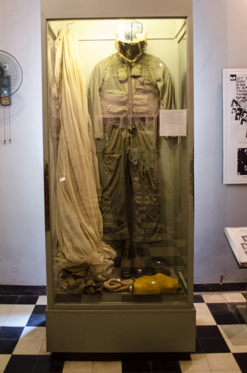 Hanoi Hilton.  John McCain flight suit