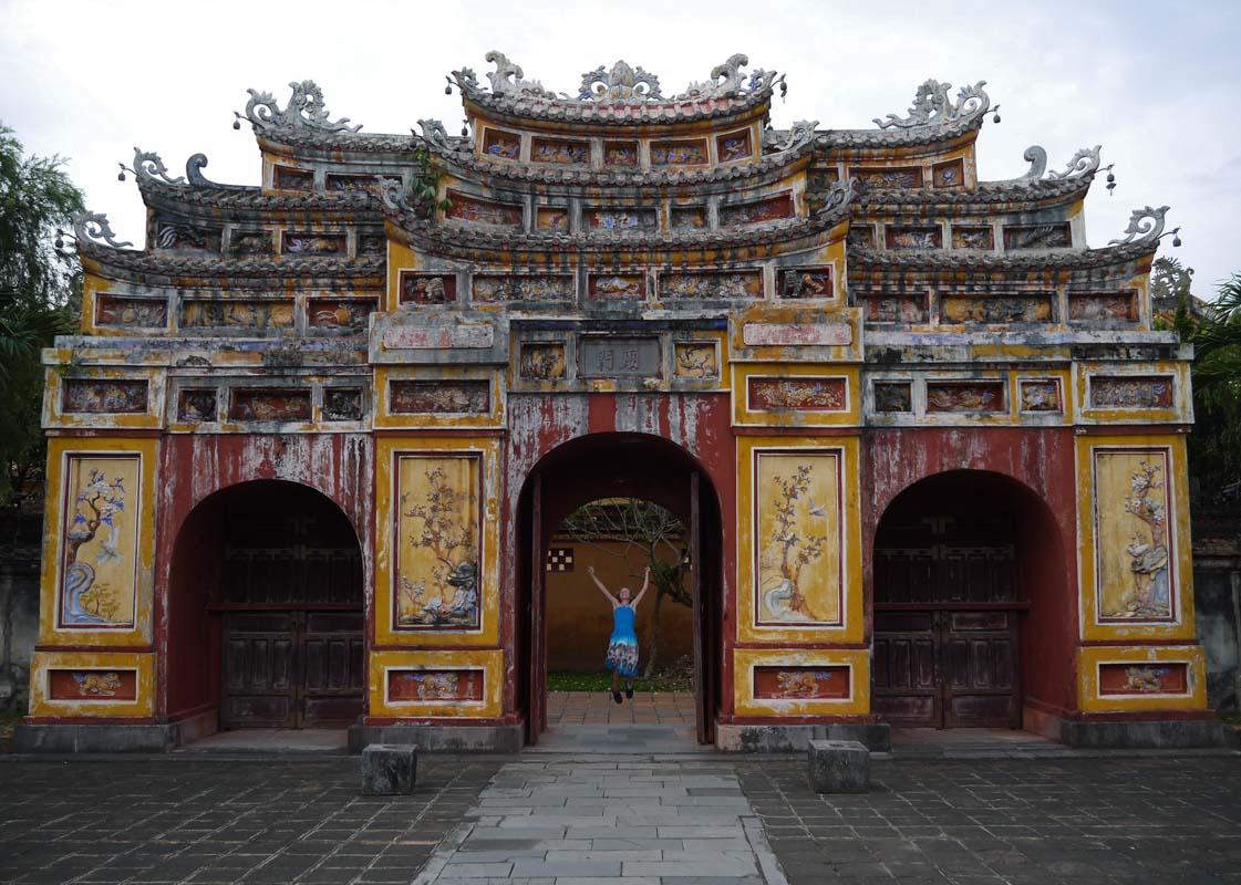 Imperial City Gates Hue