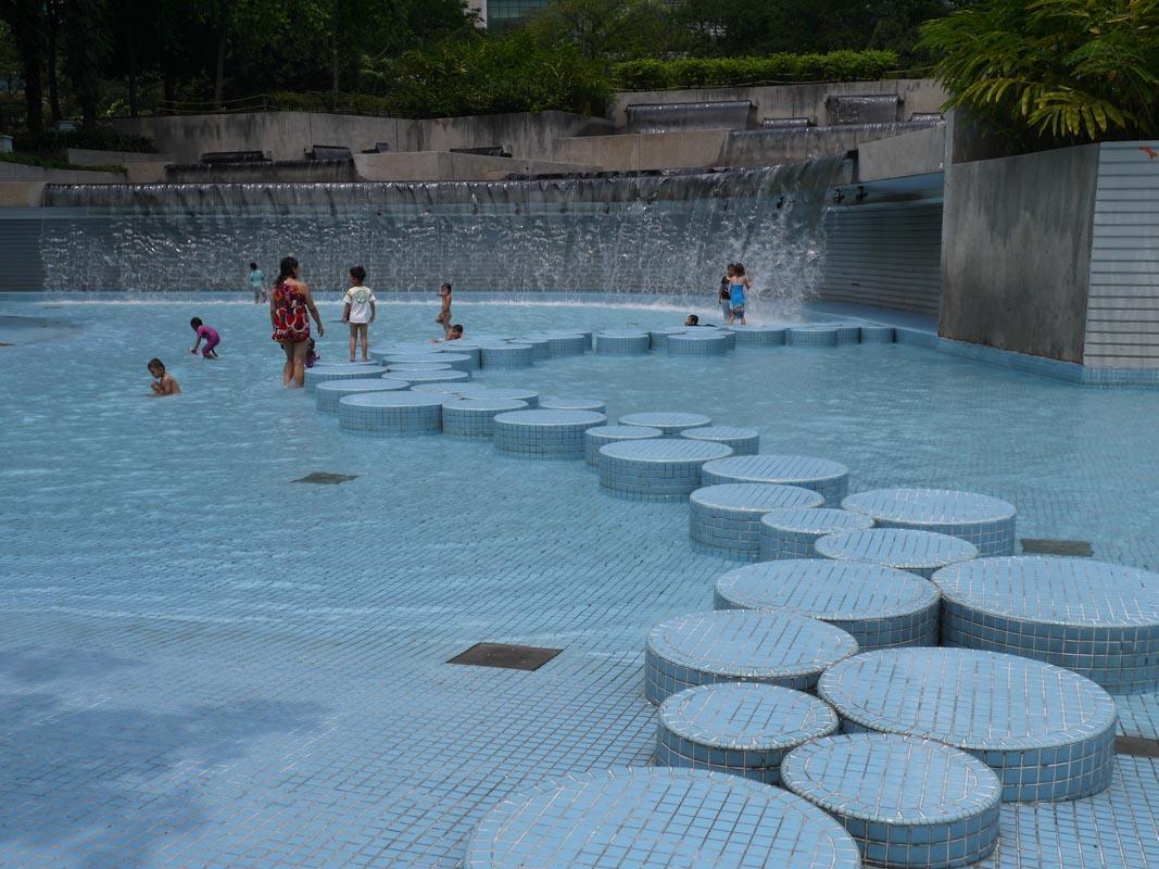 Wading Pool at KLCC Park