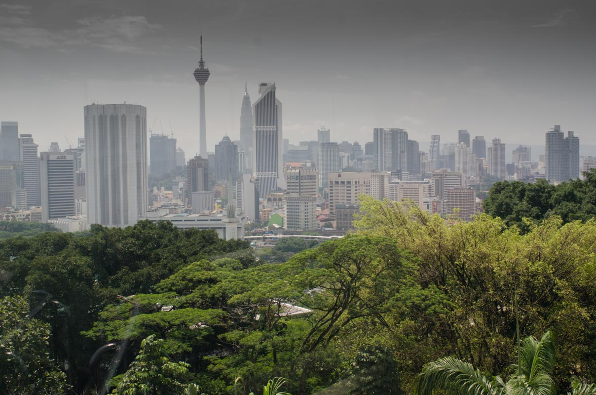 View of Kuala Lumpur from the observatory