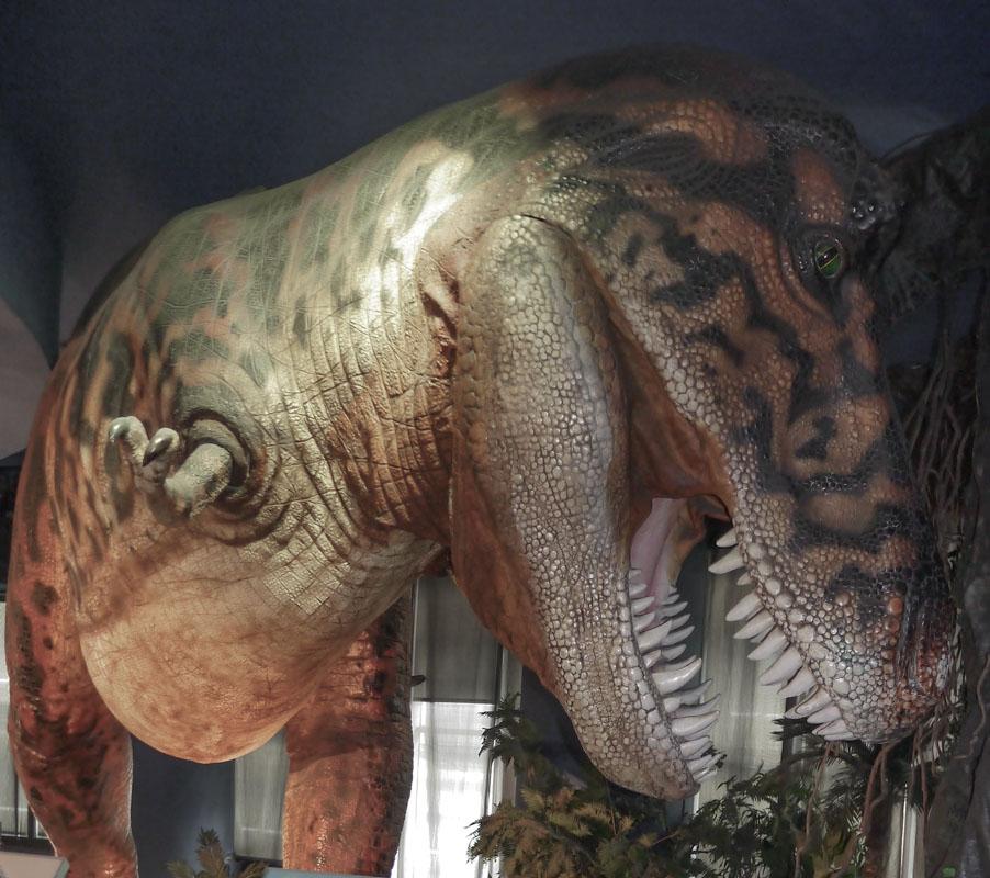 Dinosaur at Petrosains