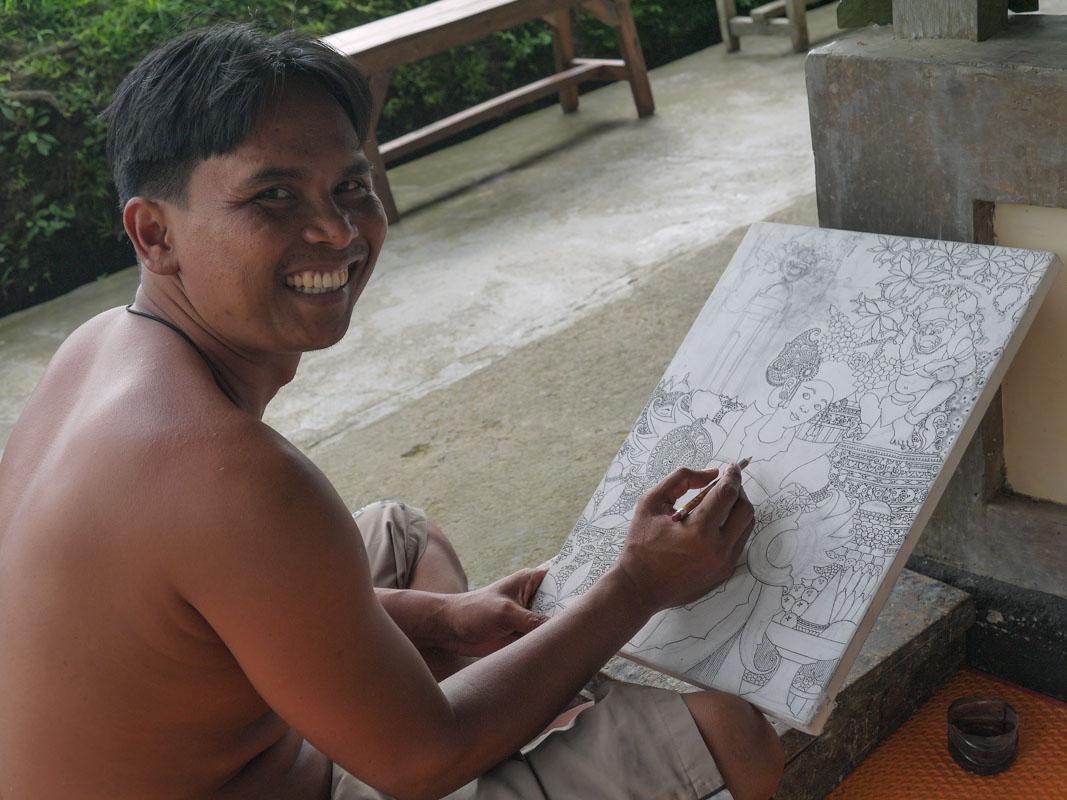 Artist Wayan