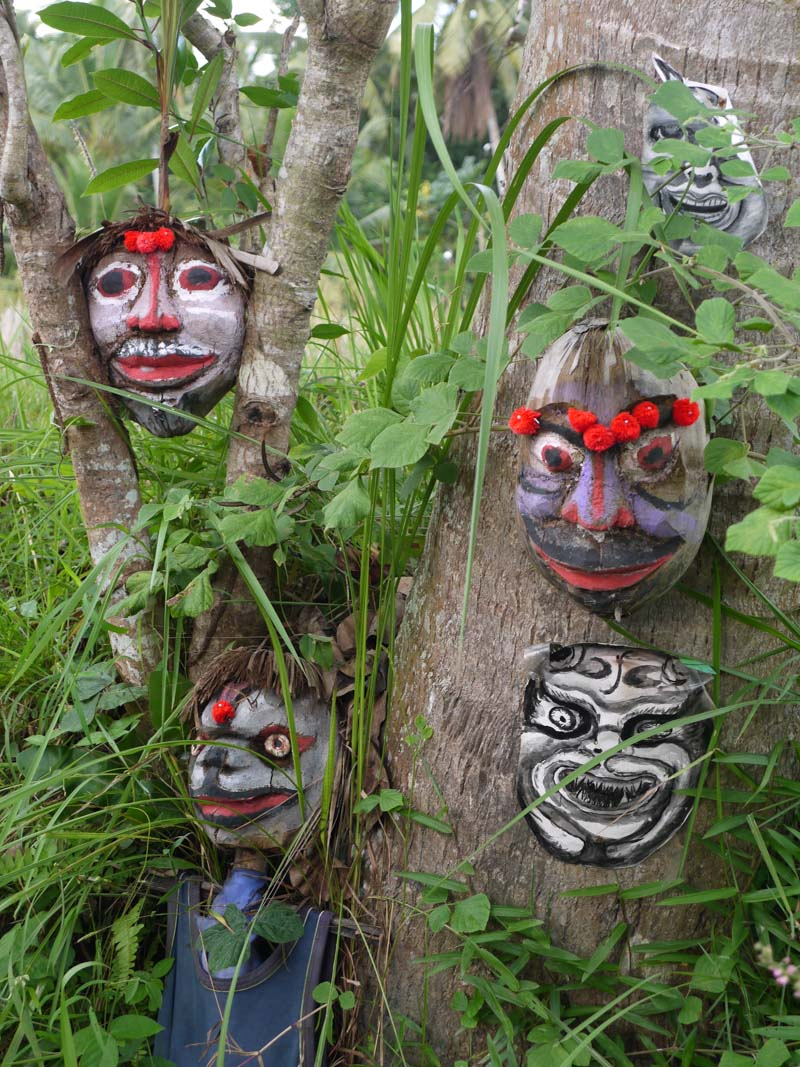 Masks Along the Trail