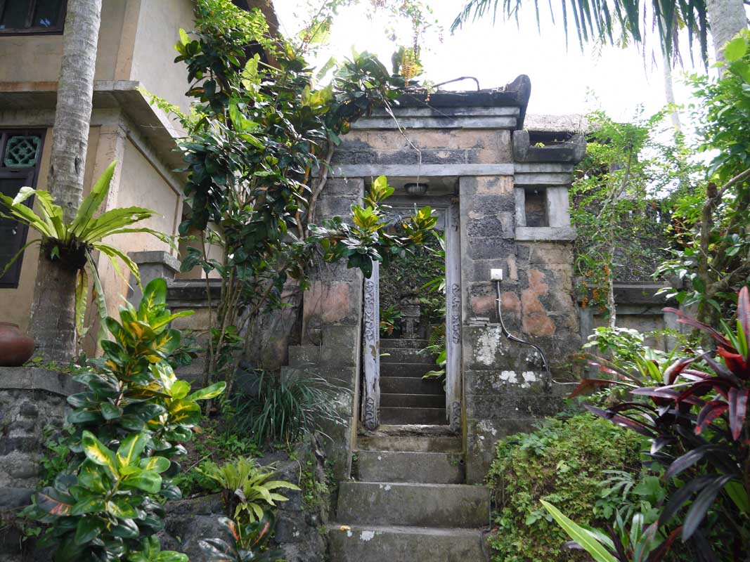 Entrance to the Eat Pray Love house. I would not advise entering without permission