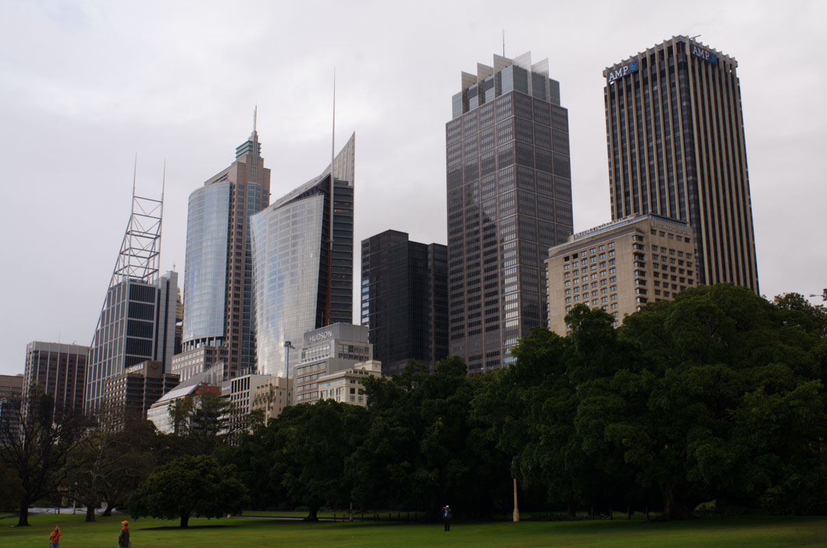 View of City from Royal Botanic Garden