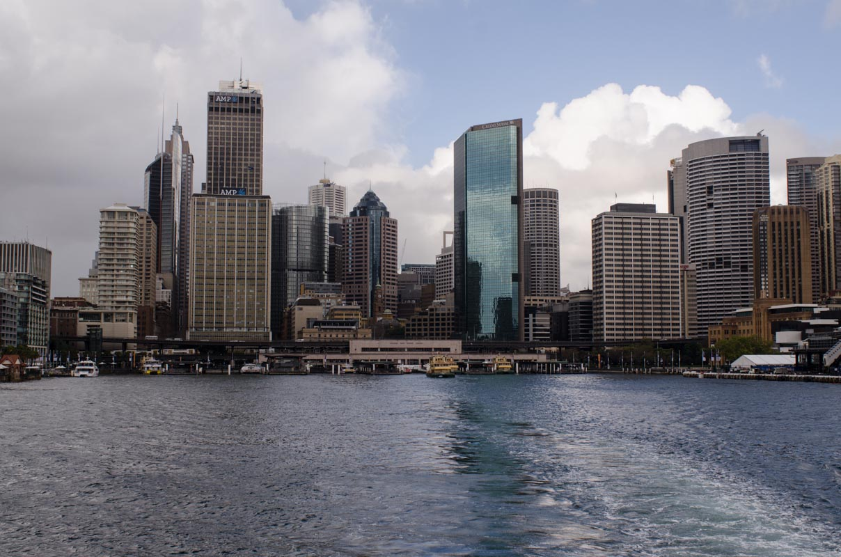 Leaving Circular Quay