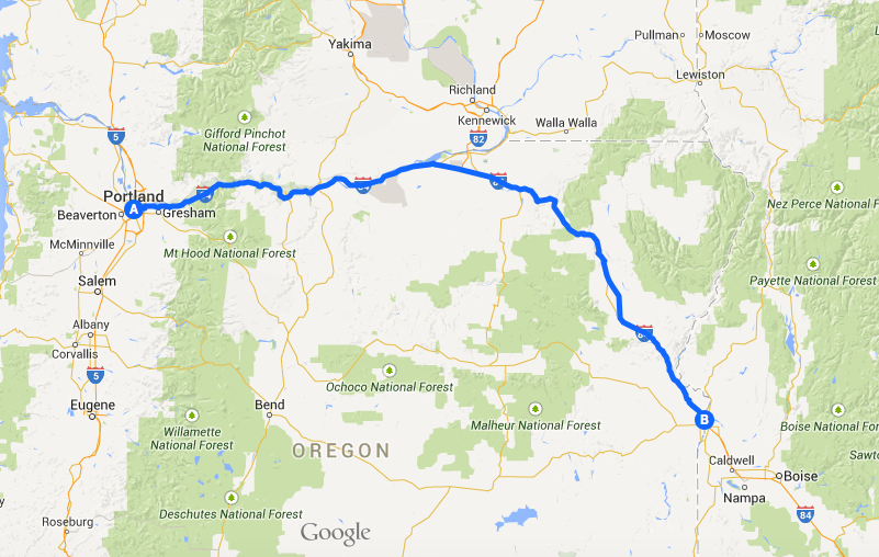 Cross Country Road Trip Part 1: Drive Across Oregon