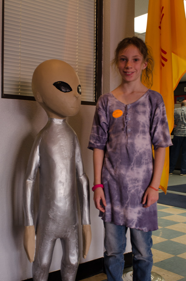 Sydney and an alien friends