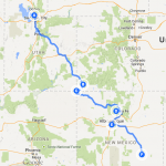 Utah to New Mexico