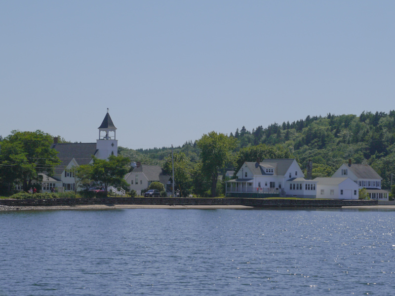 the cute town of Phippsburg